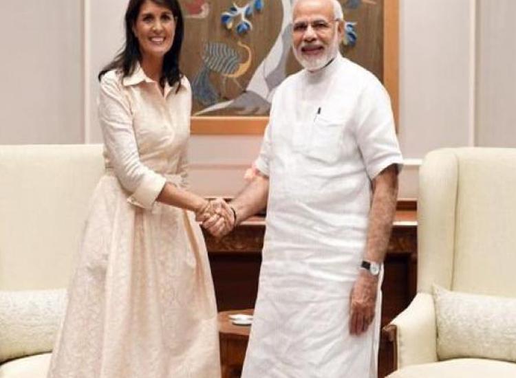 Nikki Haley and PM Modi- India TV Hindi