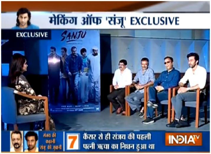 Exclusive: संजू पर राजकुमार हिरानी और रणबीर कपूर का इंटरव्यू- India TV Hindi