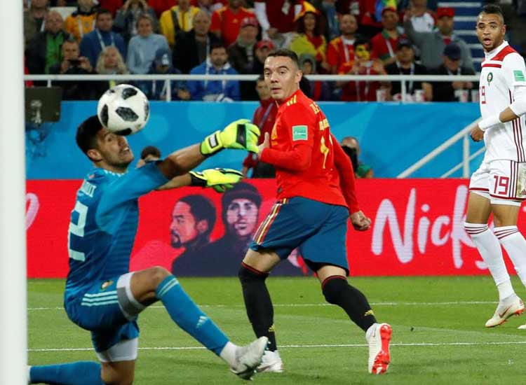 Spain claim dramatic draw against Morocco- India TV Hindi