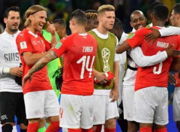 Fifa World Cup 2018 Switzerland draws 2-2 with Costa...- India TV Hindi