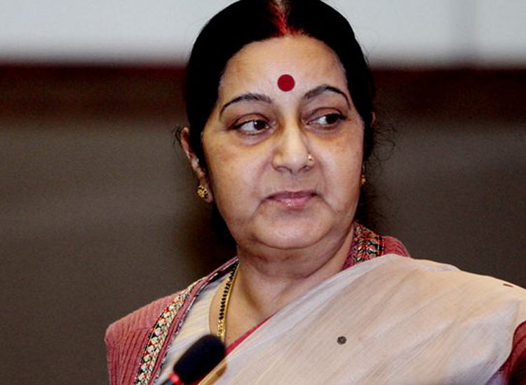 Sushma Swaraj reached Luxembourg in the third phase of a...- India TV Hindi