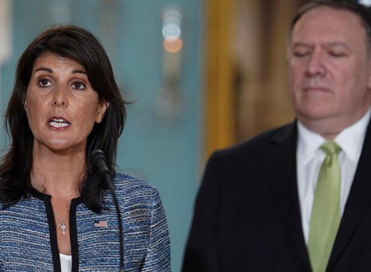 US withdraws from United Nations Human Rights Council- India TV Hindi
