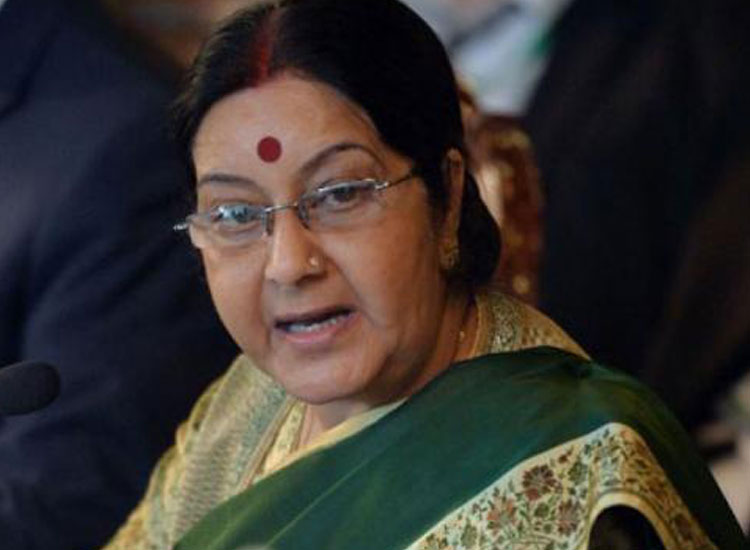 Sushma Swaraj trolled on Twitter over issuance of...- India TV Hindi