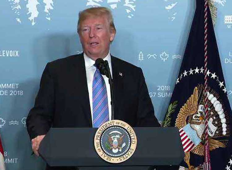 Trump calls the American media the biggest enemy of the...- India TV Hindi