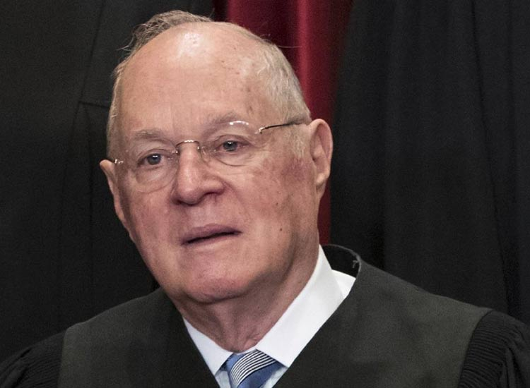 American Supreme Court Judge Anthony Kennedy announces...- India TV Hindi
