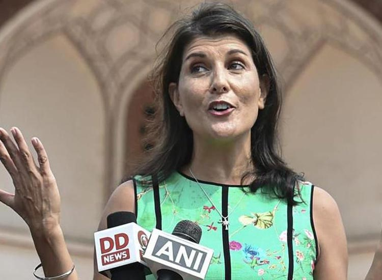 India journey aims to strengthen relations said nikki...- India TV Hindi