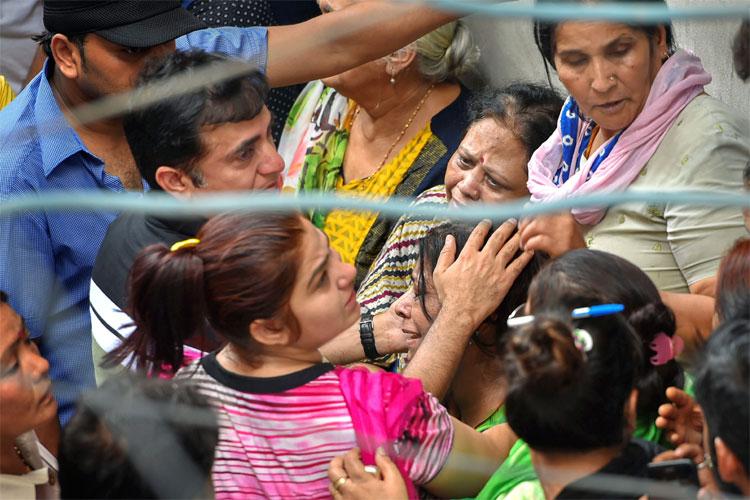Burari Case: Relatives of the family dismiss religious sacrifice or foul play | PTI- India TV Hindi