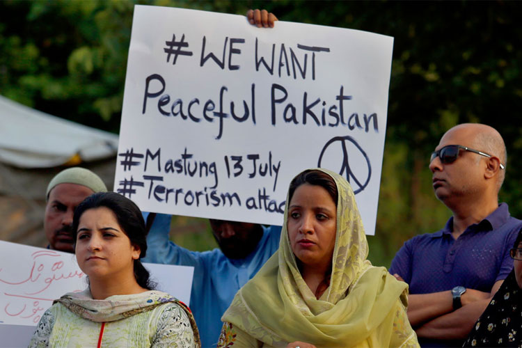 Pakistan: Mastung suicide bomber was student of a madrassa | AP- India TV Hindi