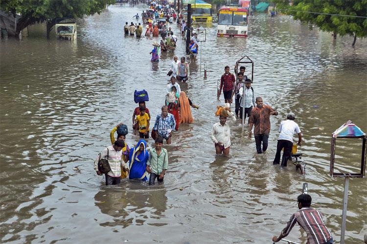 At least 37 killed as heavy rains lash Uttar Pradesh | PTI- India TV Hindi