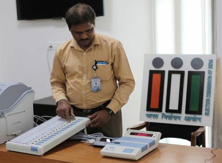 निर्वाचन आयोग, बैलेट पेपर- India TV Hindi
