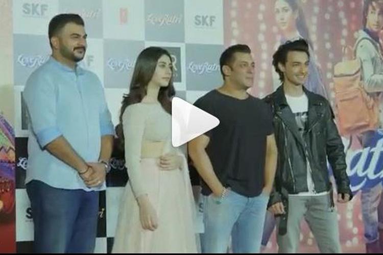 Loveratri Trailer Launch- India TV Hindi