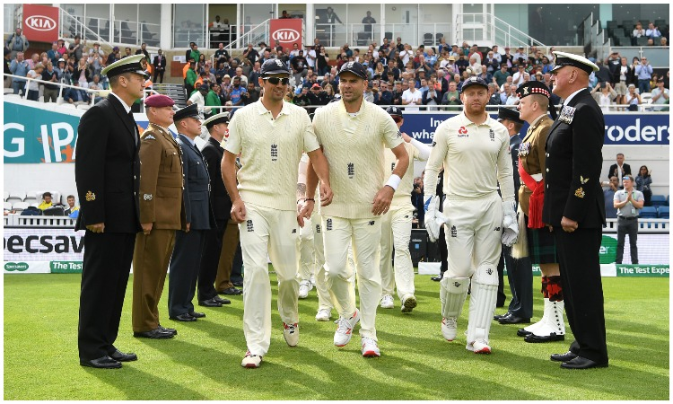 Alastair Cook, James Anderson and Jonny Bairstow- India TV Hindi