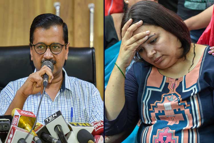 Vivek Tiwari case: Kejriwal speaks to his wife, slams...- India TV Hindi