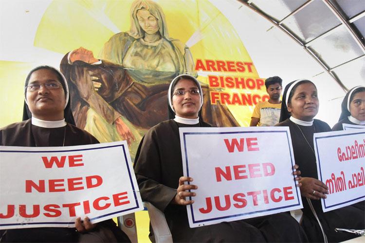 Kerala nun rape case: 'Will not rest' till bishop Franco Mulakkal is arrested, say protesting nuns- India TV Hindi
