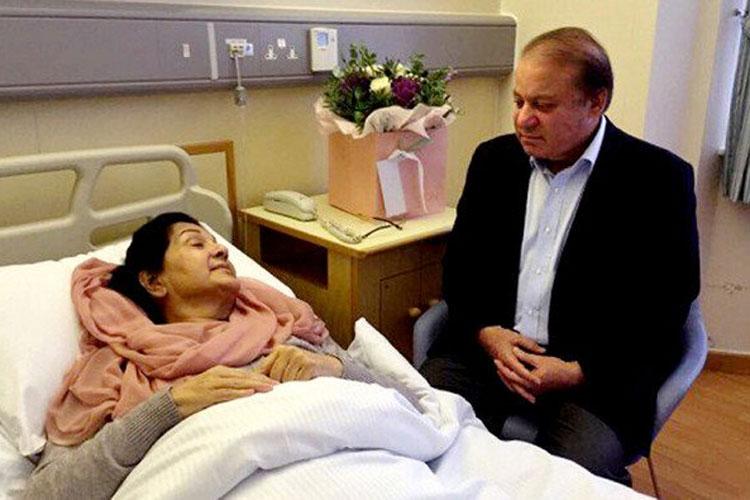 Nawaz Sharif, Maryam Nawaz to get parole for Begum Kulsoom funeral   Twitter- India TV Hindi