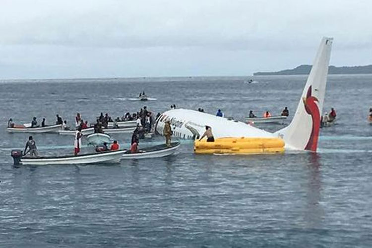 Passengers, crew survive after Air Niugini plane crashes into sea near New Zealand | AP- India TV Hindi