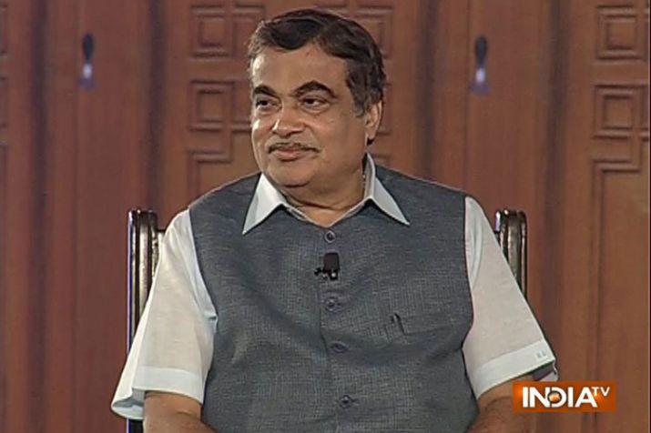 Nitin Gadkari in Aap Ki Adalat- India TV Hindi
