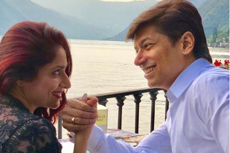 Shaan with wife Radhika- India TV Hindi