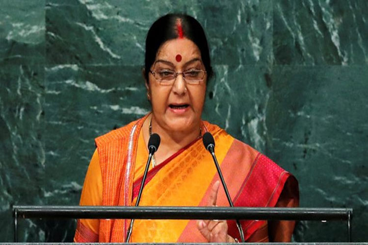 External Affairs Minister Sushma Swaraj to address UN General Assembly in New York on Saturday- India TV Hindi