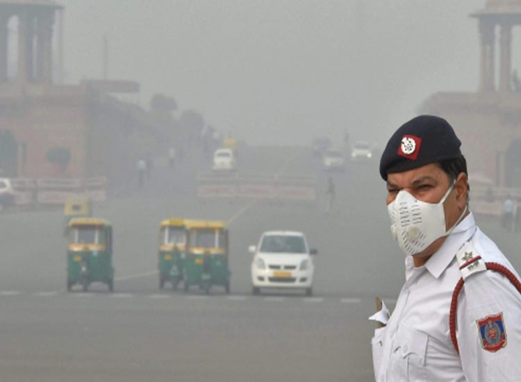 Air quality deteriorates in Delhi, air pollution- India TV Hindi