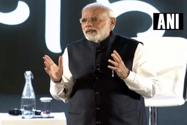 Delhi: PM Modi interacts with IT professionals from...- India TV Hindi