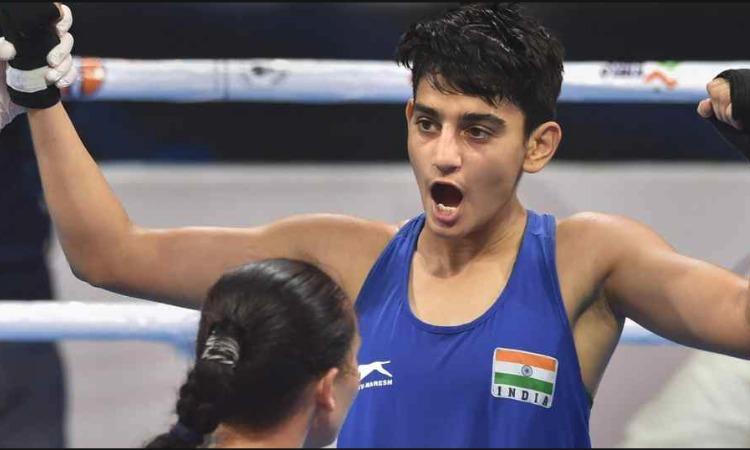 महिला वर्ल्ड बॉक्सिंग चैंपियनशिप 2018: 57 किग्रा भारवर्ग के फाइनल में हारीं भारत की सोनिया, जर्मनी क- India TV Hindi