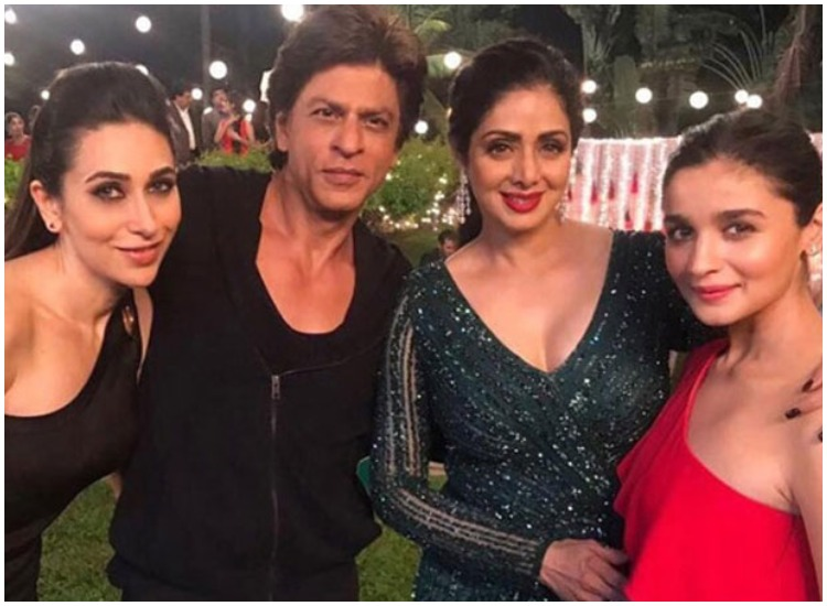 shahrukh, karishma, sridevi, alia- India TV Hindi