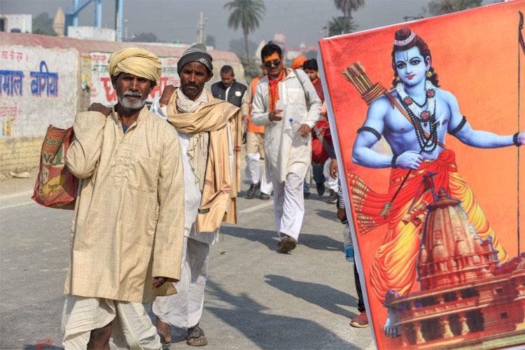 VHP's Dharm Sabha in Ayodhya to push for Ram temple construction | PTI Photo- India TV Hindi