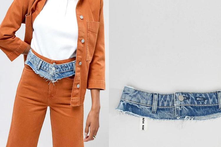 Weekday Limited Collection Denim Waistband- India TV Hindi