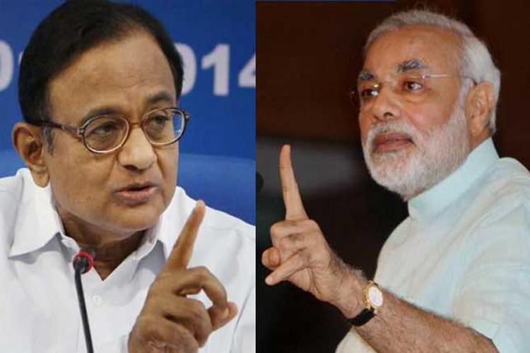 चिदंबरम ने मोदी पर पलटवार करते हुए कांग्रेस अध्यक्षों के नाम गिनाए - India TV Hindi
