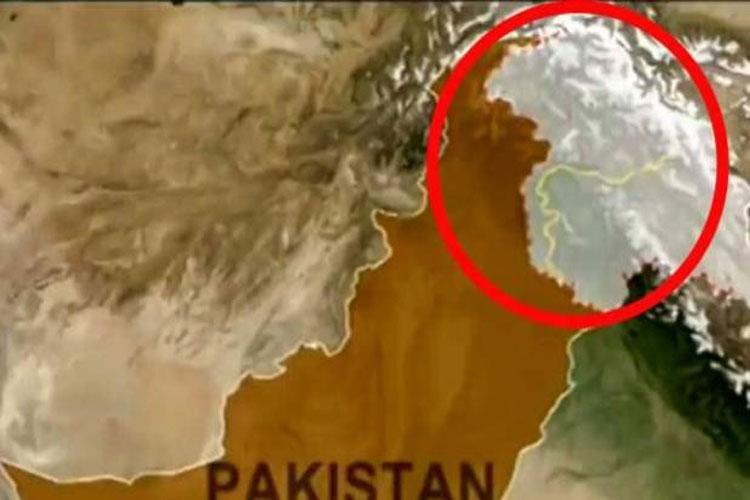 China shows PoK in India Map- India TV Hindi