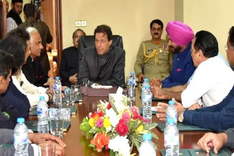 Imran Khan invited Navjot Singh Sidhu ground-breaking ceremony of Kartarpur border corridor- India TV Hindi