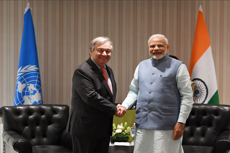 India to play responsible role at climate negotiations in Poland: Modi to UN chief- India TV Hindi