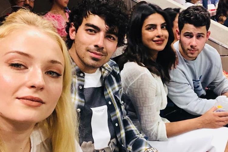Sophie Turner, Joe Jonas, Priyanak Chopra,  Nick Jonas- India TV Hindi