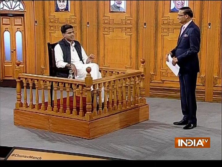 Sachin Pilot- India TV Hindi