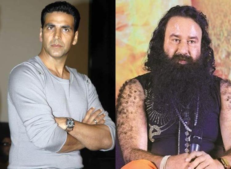 Akshay kumar and gurmeet Ram rahim- India TV Hindi