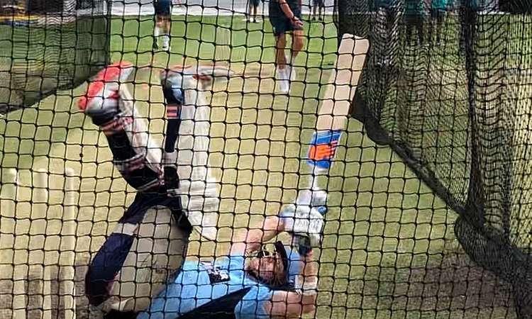 भारत के खिलाफ टेस्ट सीरीज के लिए गेंदबाजों को तैयार कर रहे स्मिथ खुद ही हो गए चित- India TV Hindi