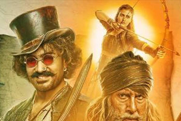 Thugs Of Hindostan's poster- India TV Hindi