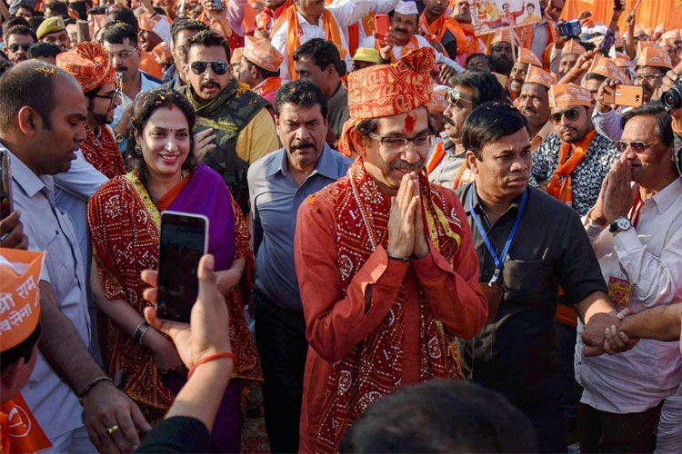 The govt may fall but temple will be built, says Uddhav Thackeray | PTI- India TV Hindi