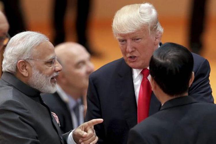 Modi Trump Abe- India TV Hindi