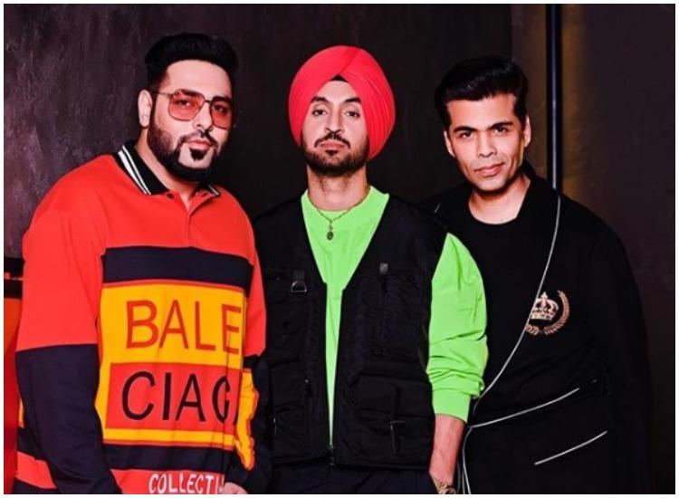 diljit, badshah, karan johar- India TV Hindi