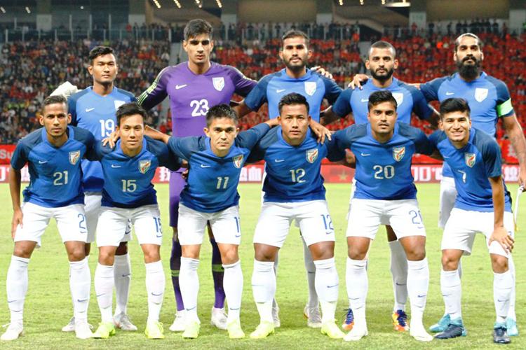 भारतीय फुटबॉल टीम ने...- India TV Hindi