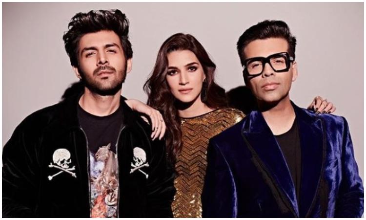Kartik, kriti and karan- India TV Hindi