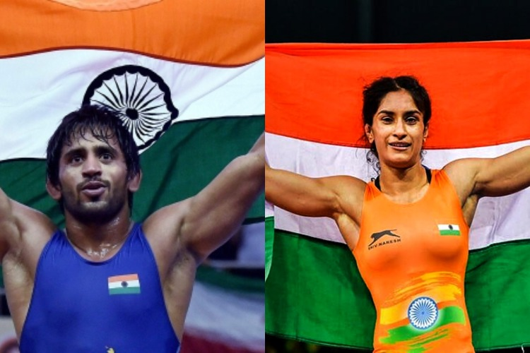 Wrestling Federation nominates Bajrang Punia and Vinesh Phogat for Khel Ratna- India TV Hindi