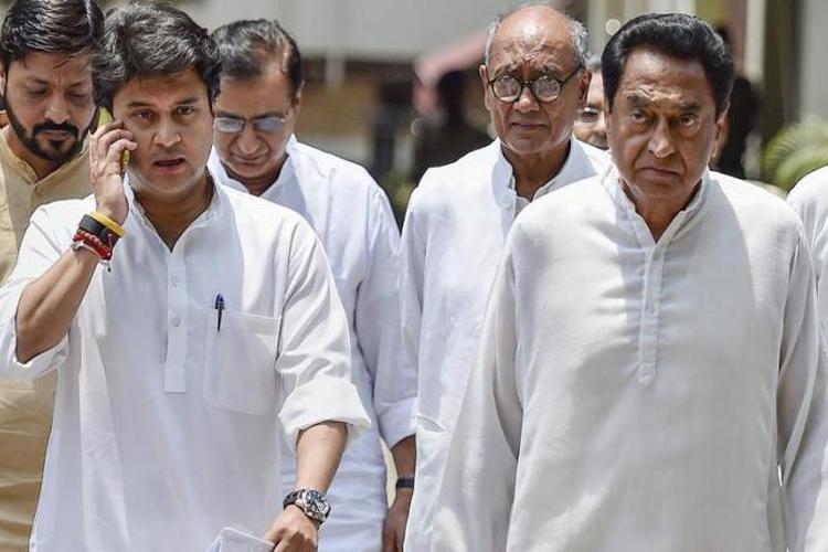 इंदिरा गांधी का 'तीसरा बेटा' या ज्योतिरादित्य सिंधिया, कौन होगा मध्य प्रदेश का अगला मुख्यमंत्री?- India TV Hindi
