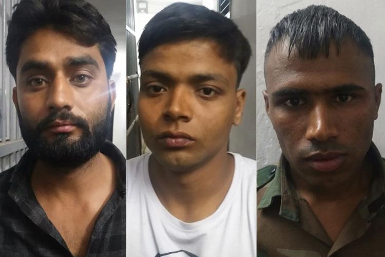 तीनों आरोपियों की तस्वीर- India TV Hindi