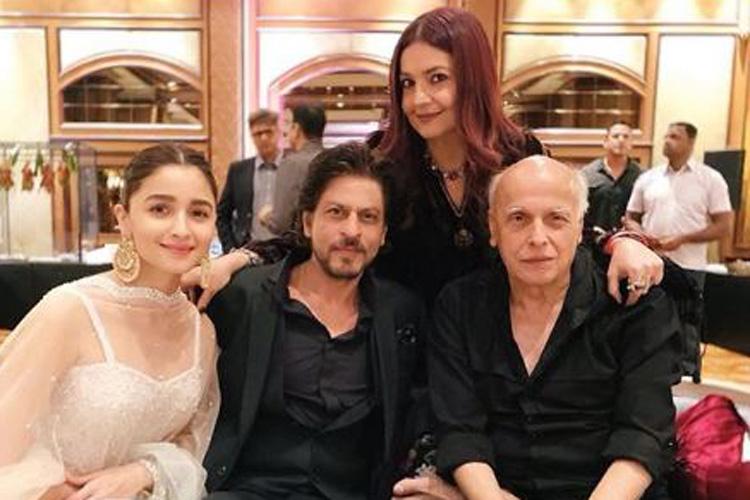 Alia Bhatt Shah Rukh Khan Ranveer Singh Mahesh Bhatt viral photos from Sakshi Bhatt reception- India TV Hindi