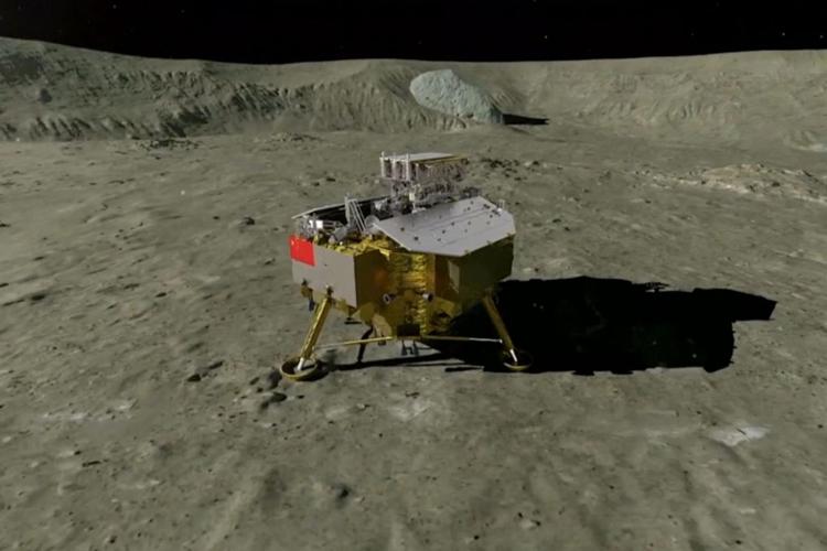 चंद्रमा की दूसरी ओर की सतह पर पहला रोवर उतारकर चीन ने रचा इतिहास- India TV Hindi