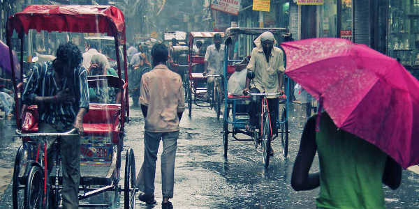 Delhi's air quality improves after rain- India TV Hindi