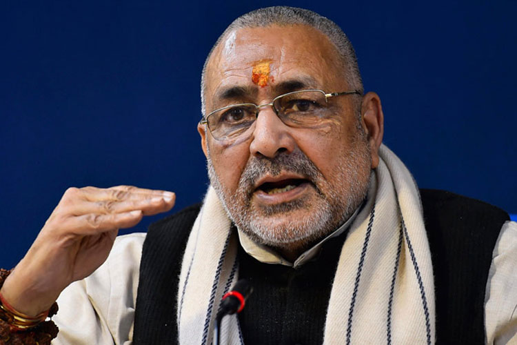 Patience of Hindus should not be tested, says Union minister Giriraj Singh   PTI File- India TV Hindi
